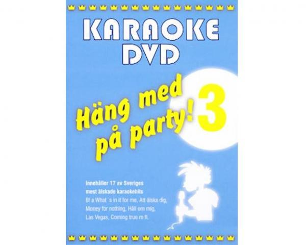 KARAOKE DVD Häng Med På Party Vol 3 (DVD)
