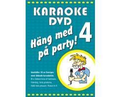 KARAOKE DVD Häng Med På Party Vol 4 (D, discoland.fi