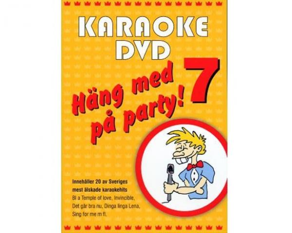 KARAOKE DVD Häng Med På Party Vol 7 (DVD)