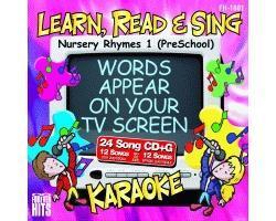 KARAOKE CDG Nursery Rhymes 1 (PreSchool), discoland.fi