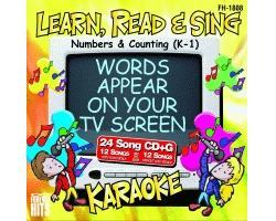 KARAOKE CDG Numbers & Counting (K-1) (CD, discoland.fi