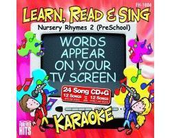 KARAOKE CDG Nursery Rhymes 2 (PreSchool), discoland.fi