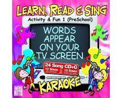 KARAOKE CDG Activity & Fun 1 (PreSchool), discoland.fi