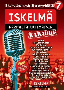 ISKELMÄKARAOKE Iskelmäkaraoke 7 DVD ka, discoland.fi