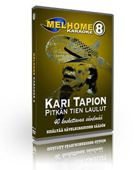 MELHOME Vol 8 karaoke DVD Kari Tapion pi, discoland.fi