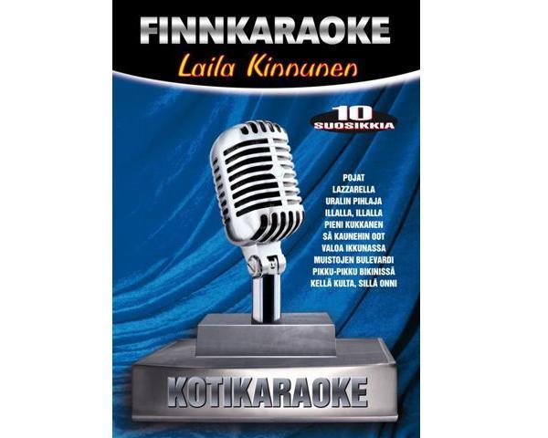 DVD FINNKARAOKE 10 SUOSIKKIA Laila Kinnu, discoland.fi