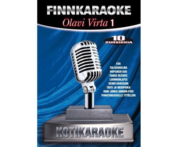 DVD FINNKARAOKE 10 SUOSIKKIA Olavi Virta, discoland.fi