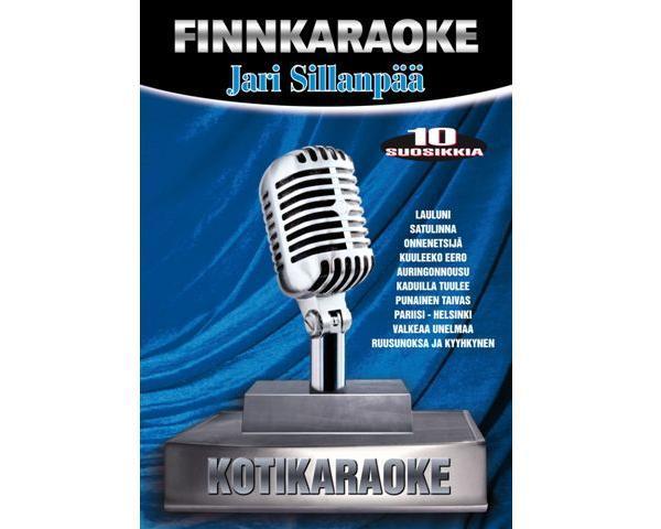 DVD FINNKARAOKE 10 SUOSIKKIA Jari Sillan, discoland.fi