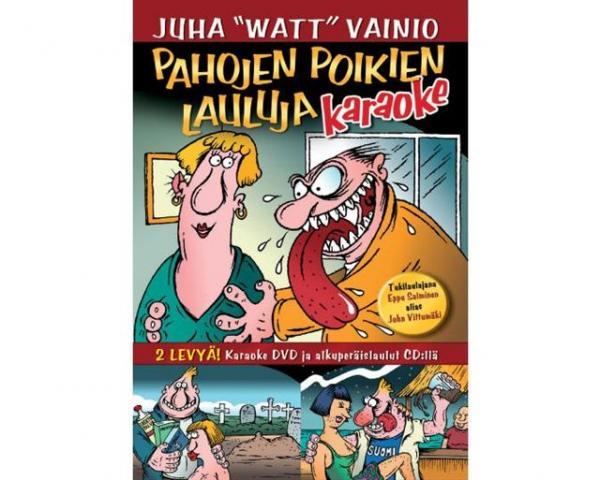 KARAOKE DVD Pahojen Poikien Lauluja Koti, discoland.fi