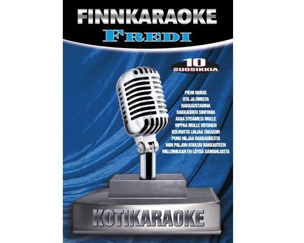 DVD FINNKARAOKE 10 SUOSIKKIA Fredi, discoland.fi
