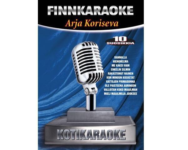 DVD FINNKARAOKE 10 SUOSIKKIA Arja Korise, discoland.fi