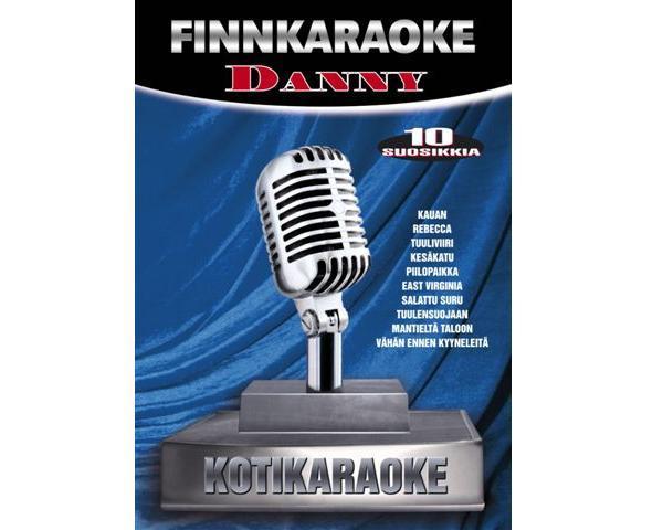DVD FINNKARAOKE 10 SUOSIKKIA Danny, discoland.fi