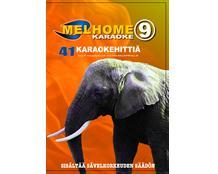 MELHOME Vol 9 KARAOKE DVD levyllä on 41, discoland.fi