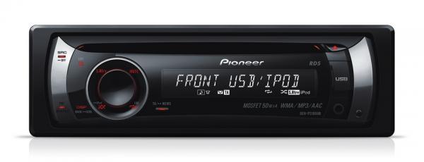 PIONEER DEH-P3100UB CD-viritin, jossa iP, discoland.fi