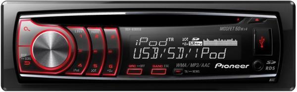 PIONEER DEH-6300SD CD-viritin, jossa iPo, discoland.fi
