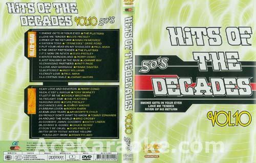 HITS OF THE DECADES 50- Luvun hitit VOL 10. DVD