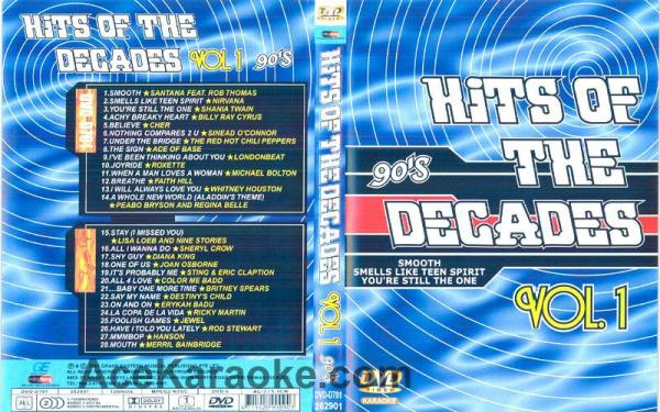 HITS OF THE DECADES 90- Luvun hitit VOL , discoland.fi