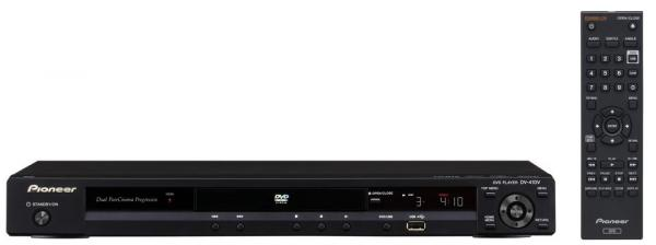 PIONEER DV-410V-K DVD-soitin, jossa HDMI, discoland.fi