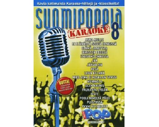 SUOMIPOP Suomipoppia Vol 8 karaoke DVD l, discoland.fi