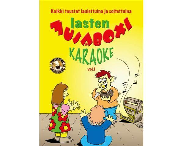 KARAOKE  DVD Lasten Musaboxi 1 (DVD), discoland.fi