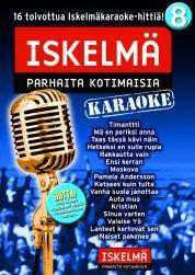 ISKELMÄKARAOKE Iskelmäkaraoke 8 DVD ka, discoland.fi