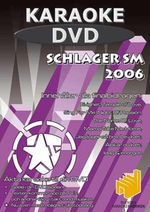 DVD KARAOKE Schlager SM 2006 (CDG), discoland.fi