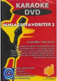 DVD KARAOKE Schlagerfavoriter 2 (DVD), discoland.fi