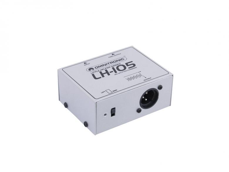 OMNITRONIC LH-105 MIC mikrofoni jako spl, discoland.fi