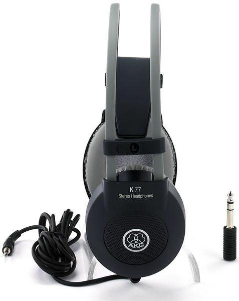 AKG K77 Kuuloke kotiäänitykseen sekä soittimien monitorointiin. Home recording, Musical instruments, Monitoring!