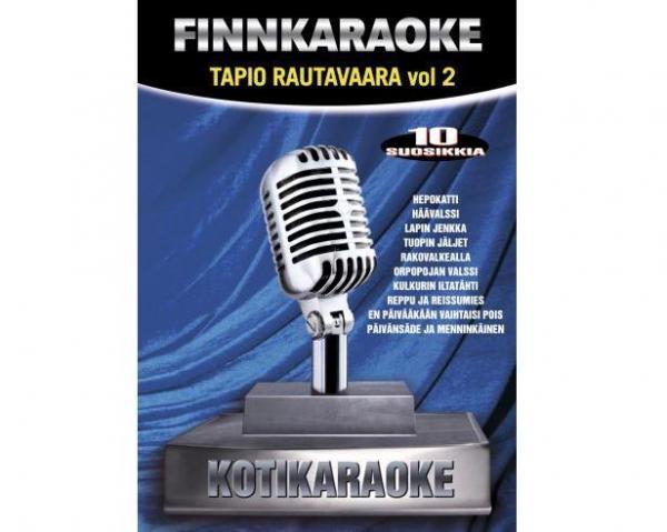 DVD FINNKARAOKE 10 SUOSIKKIA Tapio Rauta, discoland.fi