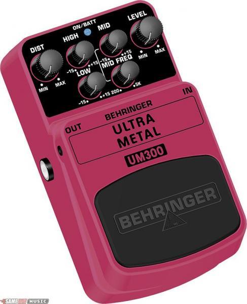 BEHRINGER UM300 Ultra Metal Tämä pedaa, discoland.fi