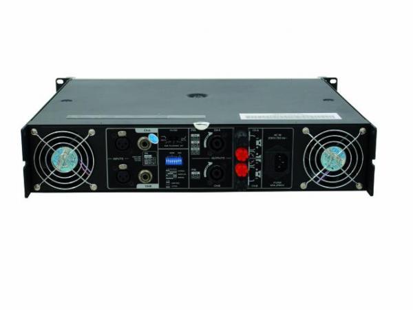 OMNITRONIC B-1000 Amplifier 2x 500W 4ohms, ammattitason päätevahvistin, luokka A/B