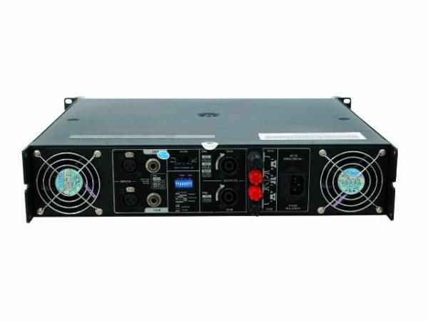 OMNITRONIC B-1300 Amplifier 2x 650W 4ohms, ammattitason päätevahvistin, luokka A/B (2x 450W 8ohms)