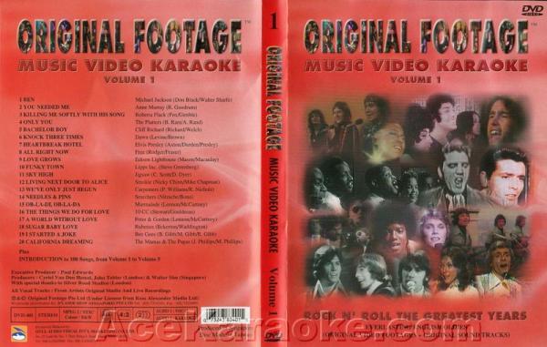 KARAOKE DVD Original Footage VOL. 1, discoland.fi