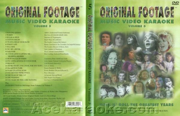 KARAOKE DVD Original Footage VOL. 5