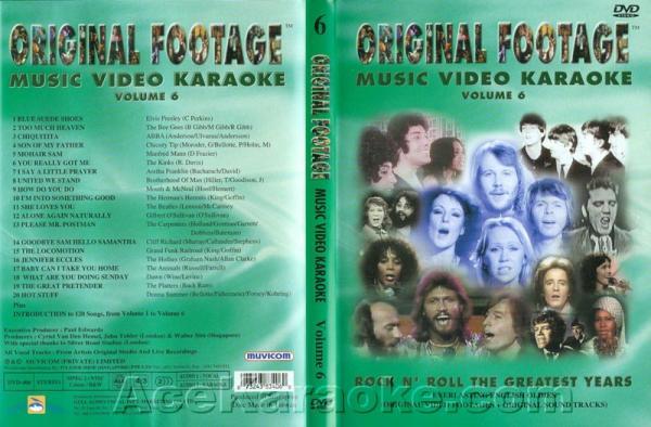 KARAOKE DVD Original Footage VOL. 6, discoland.fi