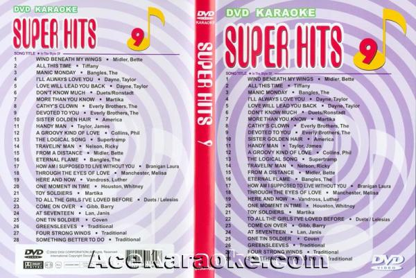 U-BEST Super Hits English Songs Vol. 9 D, discoland.fi