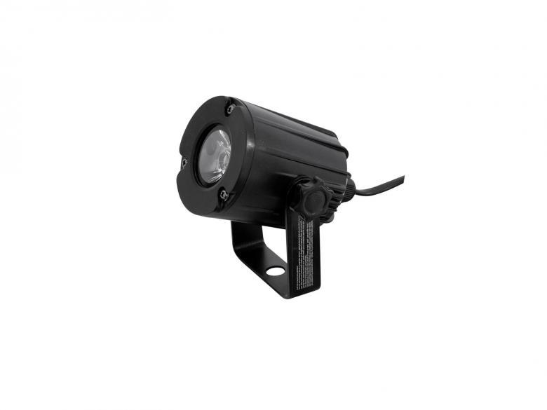 EUROLITE LED valaisin PST-3W 6000K 6° S, discoland.fi