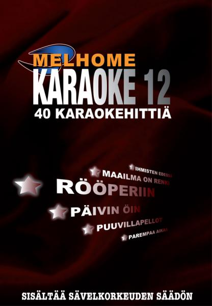 MELHOME Vol 12 KARAOKE DVD levyllä on 4, discoland.fi