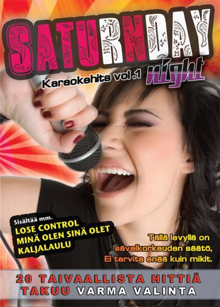 SATURDAYNIGHT Karaoke vol 1 DVD levyltä, discoland.fi