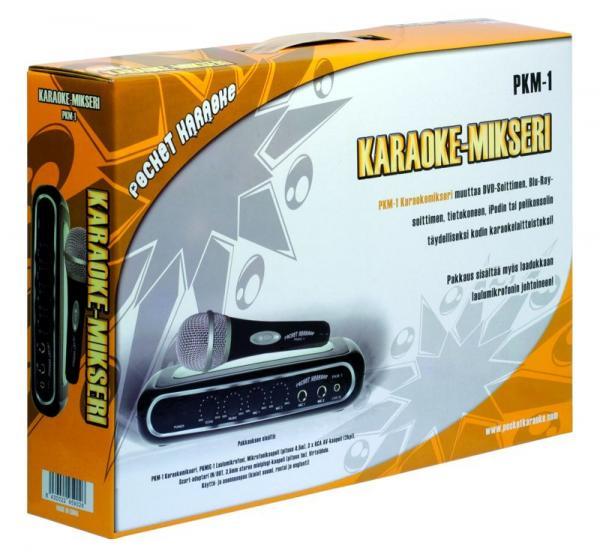 POCKET KARAOKE PKM-1 karaoke-mikseri + M, discoland.fi