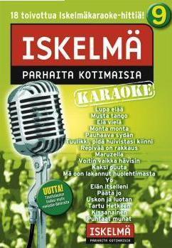 ISKELMÄKARAOKE Iskelmäkaraoke 9 DVD ka, discoland.fi