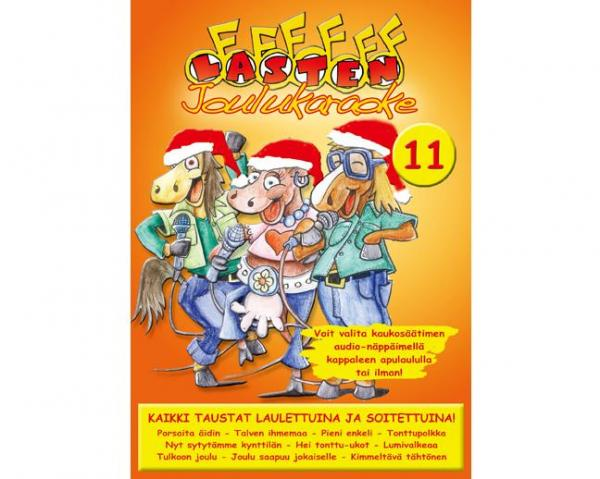KARAOKE DVD Lasten Karaoke 11 DVD, discoland.fi