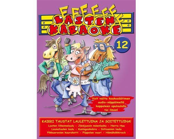 KARAOKE DVD Lasten Karaoke 12 DVD, discoland.fi