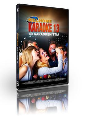 MELHOME Vol 13 KARAOKE DVD levy sisält�, discoland.fi