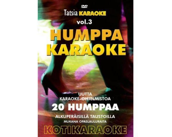 TATSIA Kotikaraoke Vol 3 Humppa-karaoke , discoland.fi