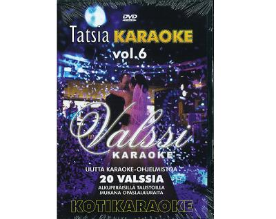 TATSIA Kotikaraoke Vol 6  Valssi kotikar, discoland.fi