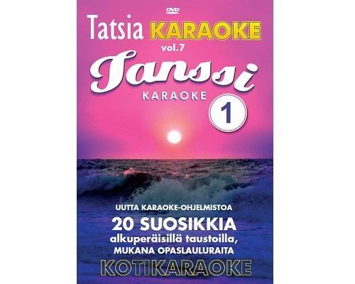 TATSIA Kotikaraoke Vol 7 Tanssi 1-karaok, discoland.fi