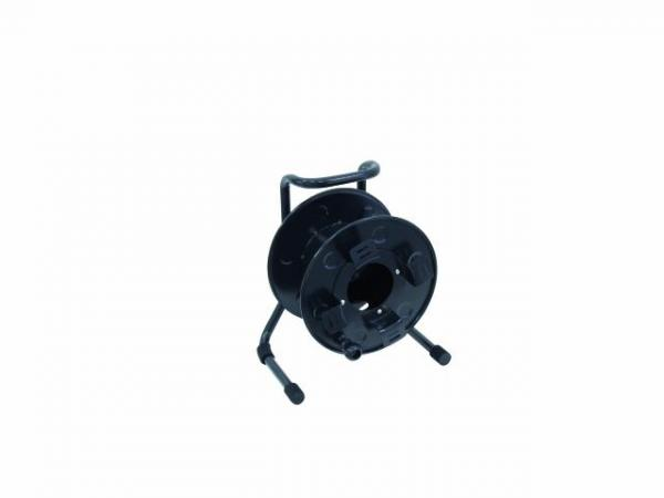 EUROLITE Metal cable drum 27cm black, discoland.fi