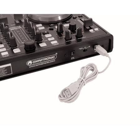 OMNITRONIC TMC-1 Controller include VDJ, DJ controller include software Virtual DJ 6 LE, DJ-kontrolleri Virtual DJ 6 LE softalla